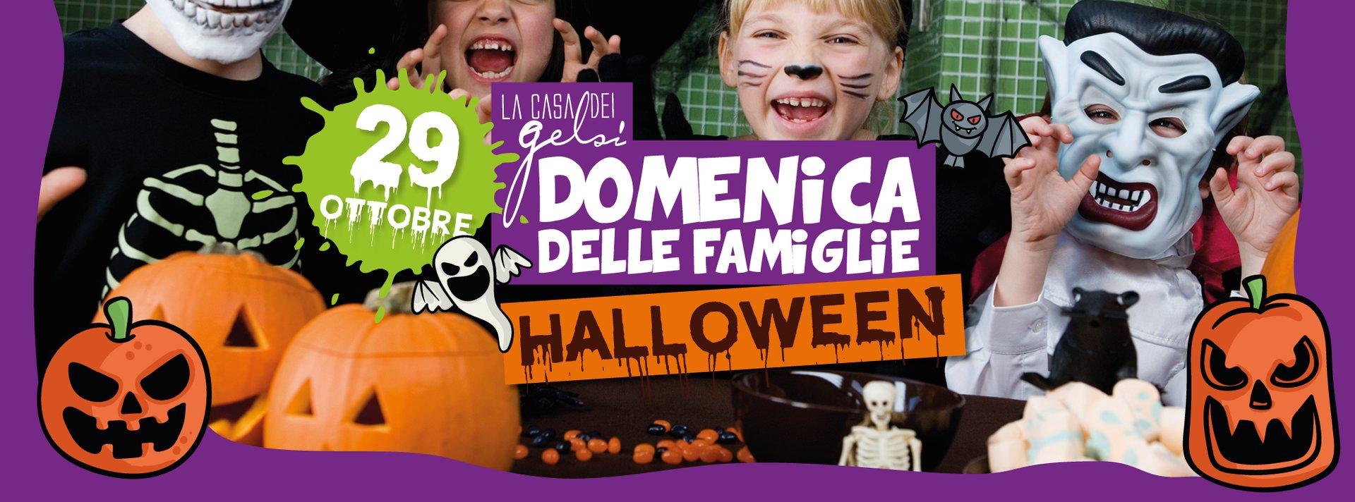Halloween -Domenica delle famiglie - 29 ottobre 20