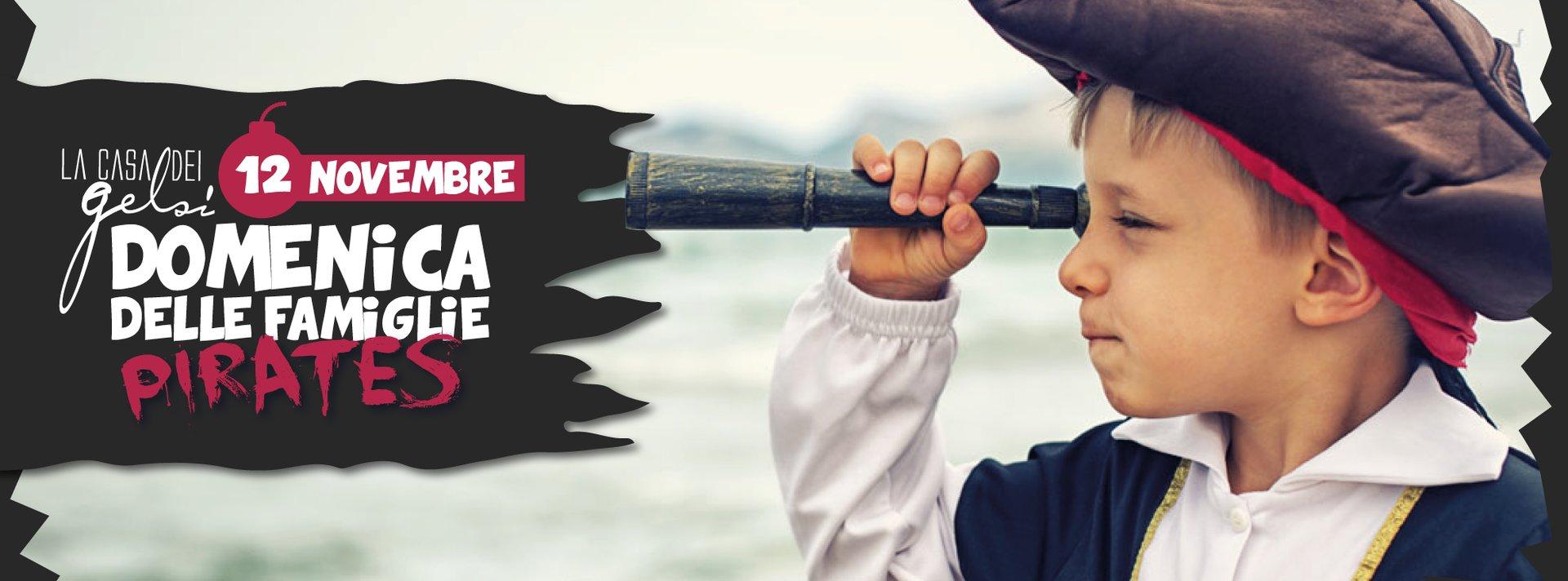 Domenica per bambini e famiglie a tema pirati ai G