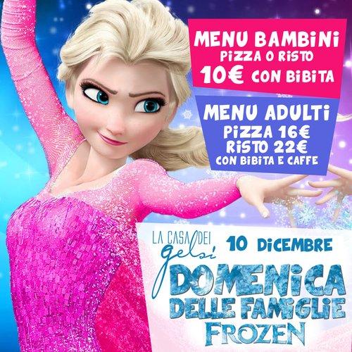 Frozen alla Casa dei Gelsi - 10 dicembre 2017
