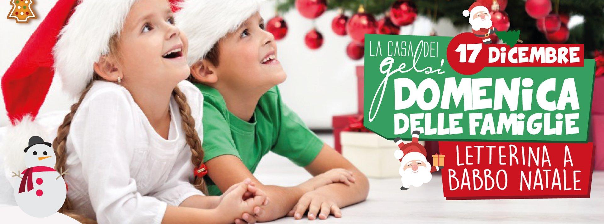 Letterina a Babbo Natale - serata per famiglie ai