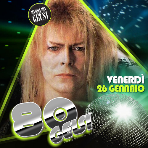 David Bowie - 80 gelsi