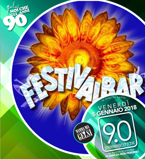 Festival Bar - Anni 90 - 5 gennaio 2018