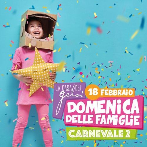 Carnevale in famiglia - Festa in maschera - Gelsi