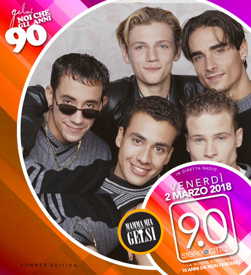 Backstreet boys - anni 90 Gelsi