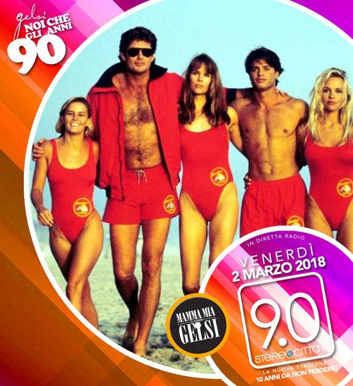 Baywatch - anni 90 Gelsi