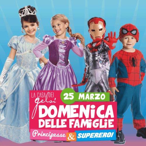 Principesse e supereroi ai Gelsi - 25 marzo 2018