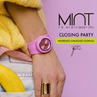 Mint closing party ai Gelsi