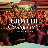 Closing party Giovedì Gelsi 13 settembre 2018