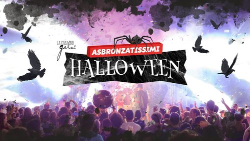 Asbronzatissimi Halloween Party ai Gelsi