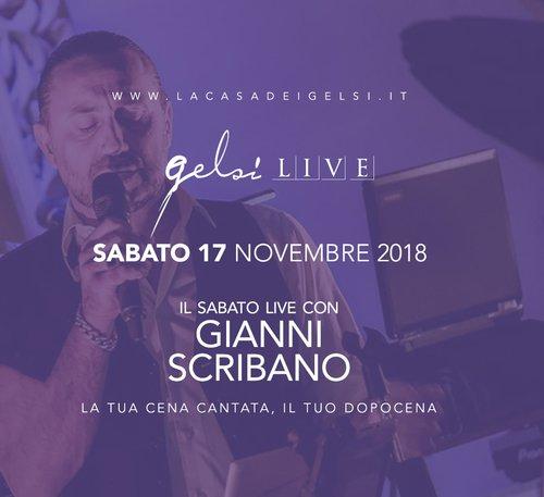 Gianni Scribano alla Casa dei Gelsi - 17 nov 2018