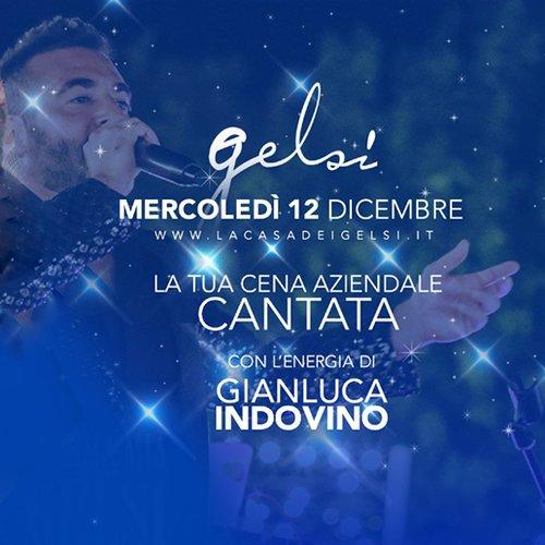 Cena cantata aziendale 12dicembre 2018