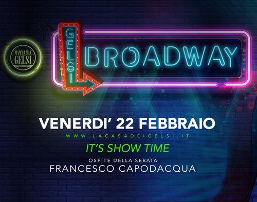 Broadway 22 febbraio 2019