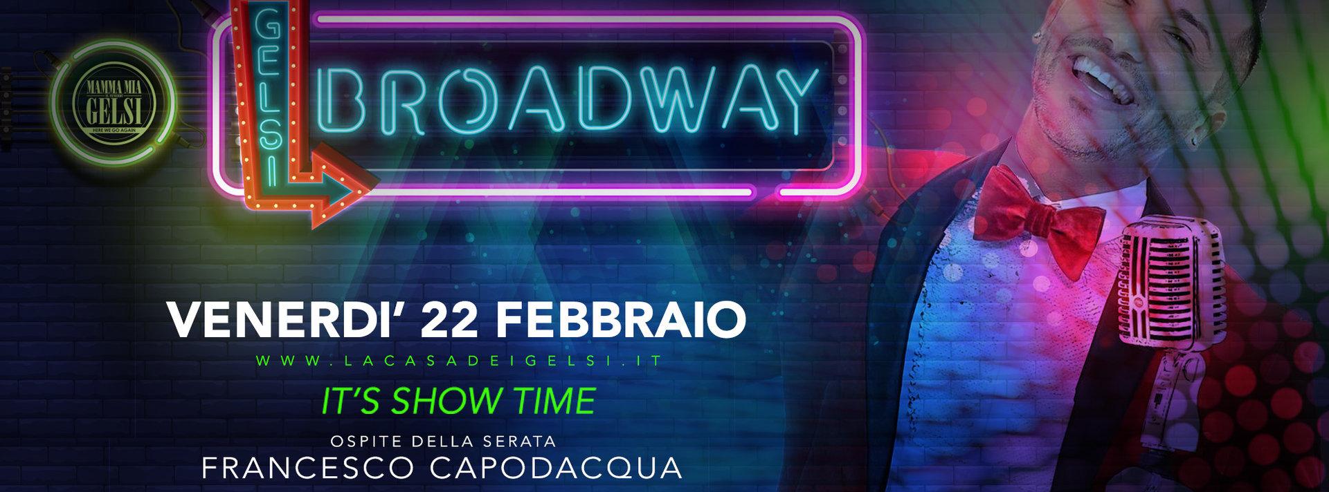 Broadway con F. Capodacqua