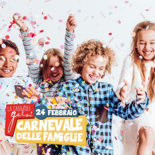 Carnevale per famiglie ai Gelsi 2019