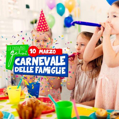 Carnevale delle famiglie 10 marzo
