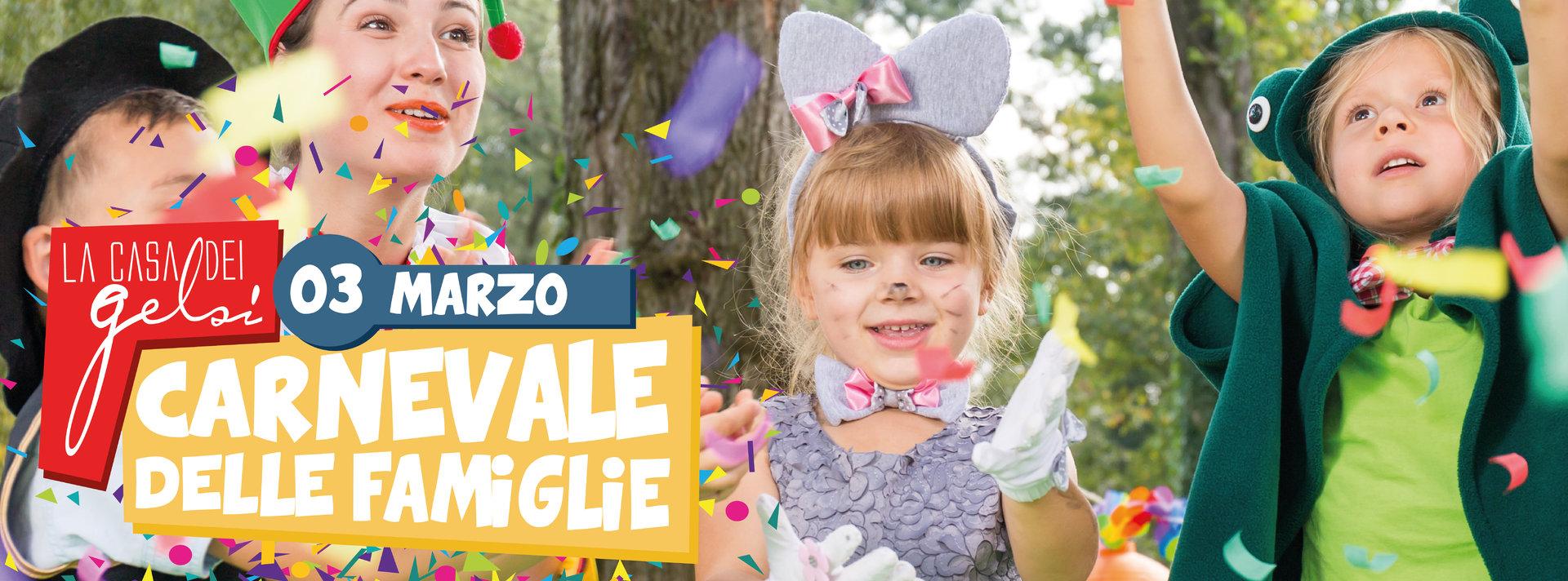Carnevale delle famiglie Gelsi - 3 marzo