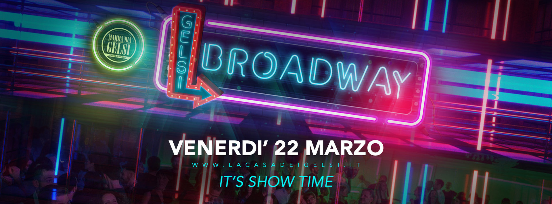 Gelsi brodway 22 marzo 2019