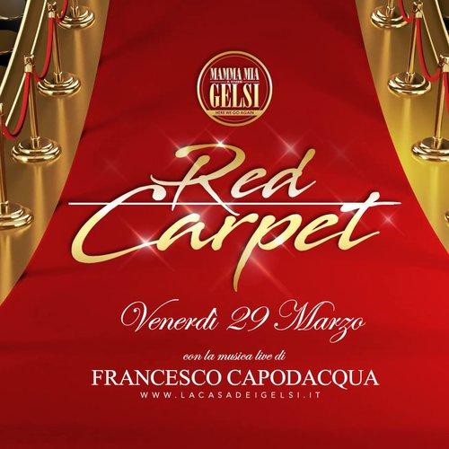 Red Crpet con Capodacqua 29 marzo 2019