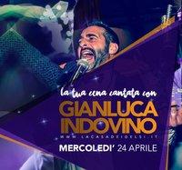 Cena cantata con Indovino - 24 aprile 2019