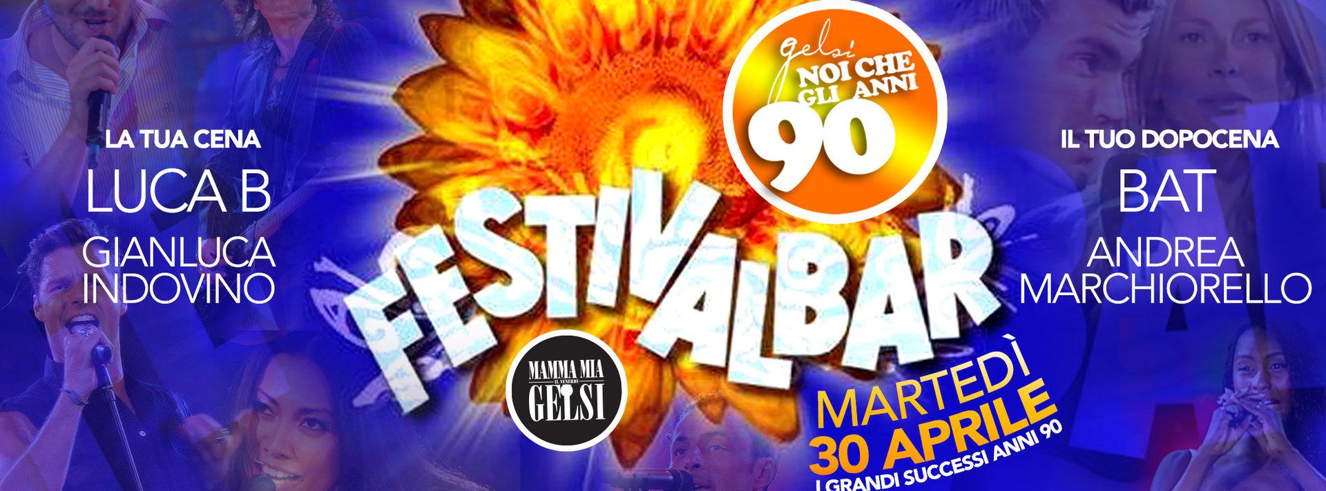 Festivalbar - Serata anni 90 - 30 aprile 2019