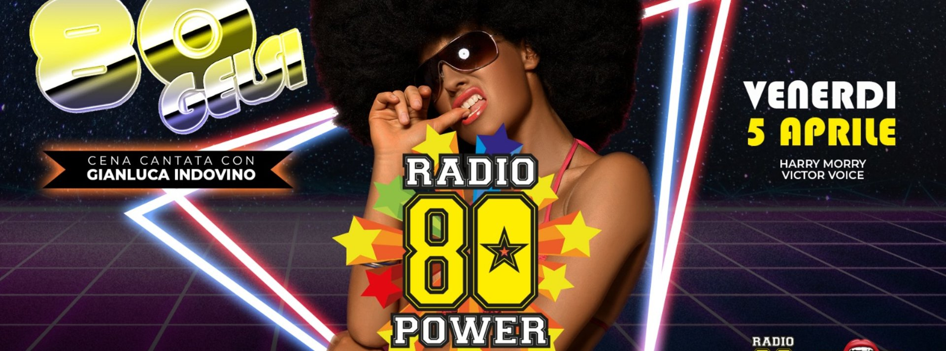 Radio 80 Power ai Gelsi