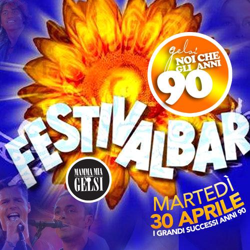 Serata anni 90 Festivalbar - 30 aprile 2019