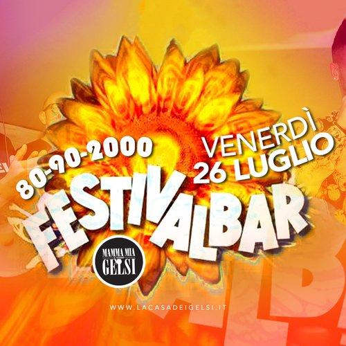 Serata Festivalbar - 26 luglio 2019