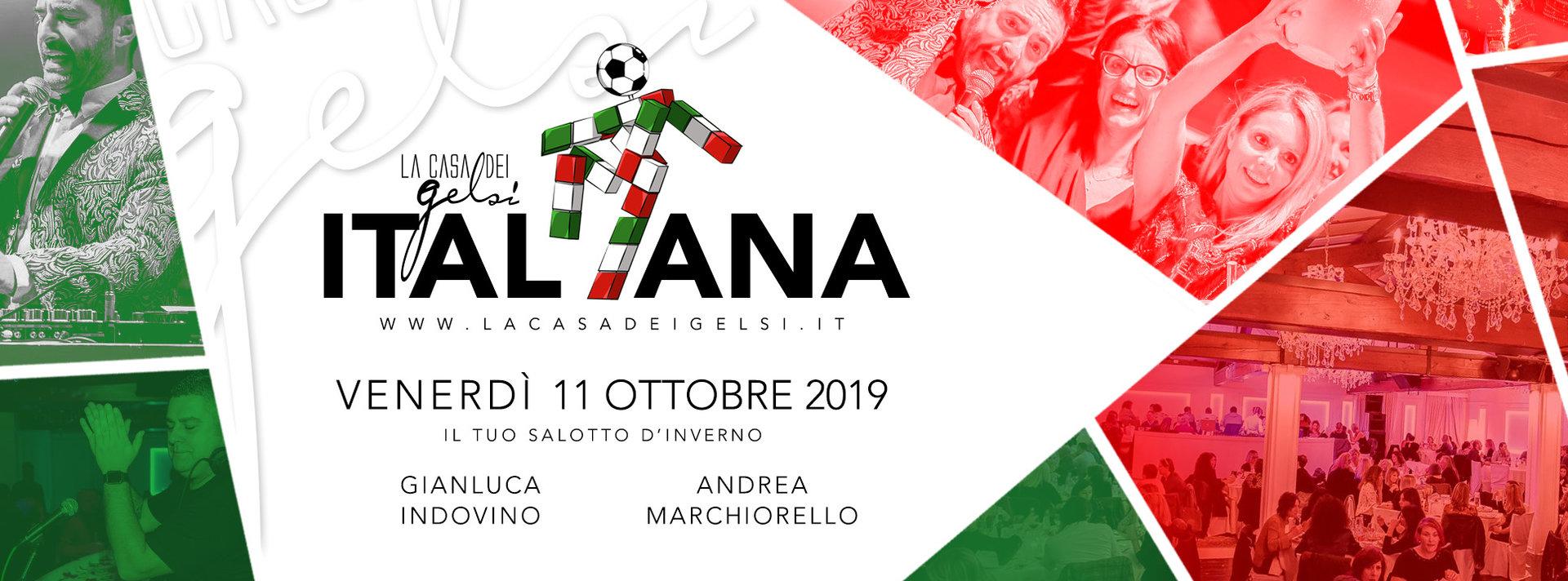 Serata Italiana - 11 ottobre 2019