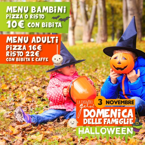 Halloween ai Gelsi per famiglie - 3 novembre 2019