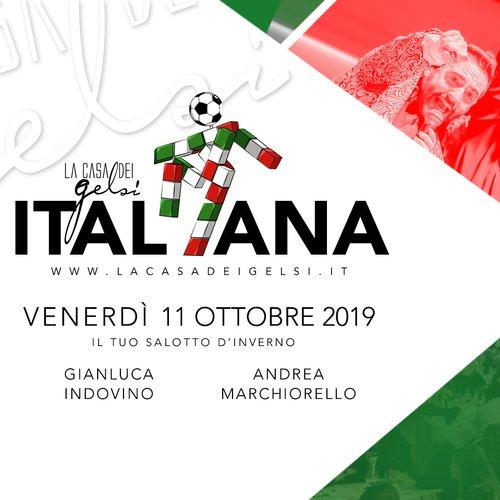 Italiana - Cena con Gianluca Indovino -11 ottobre