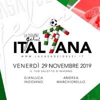 Italiana - Serata ai Gelsi - 29 novembre 2019