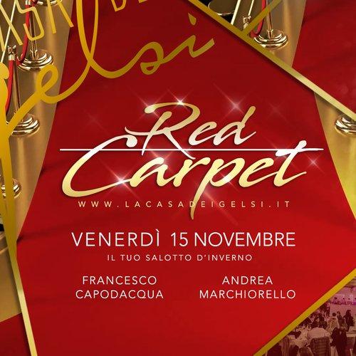 Red carpet con Francesco Capodacqua - 15 novembre