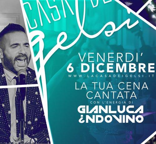 Serata con Gianluca Indovino - 6 dicembre 2019