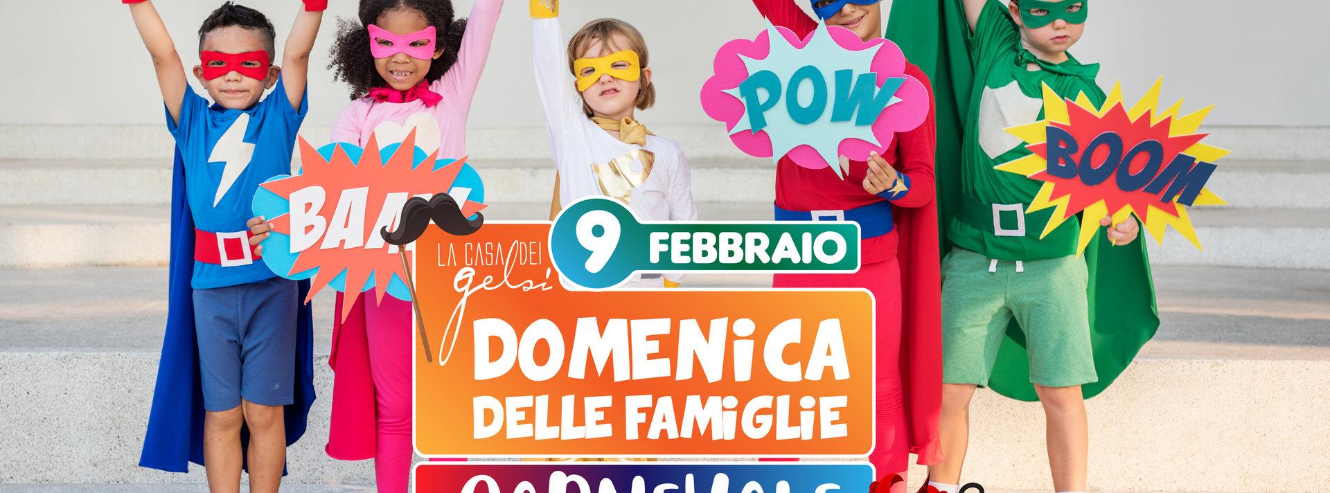 Carnevale 2020 per famiglie Gelsi