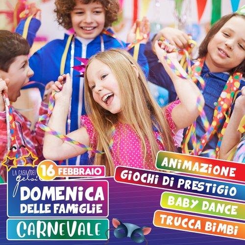 Carnevale delle famiglie Gelsi - 16 febbraio 2020