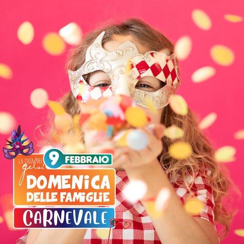 Carnevale per bambini e famiglie ai Gelsi 2020
