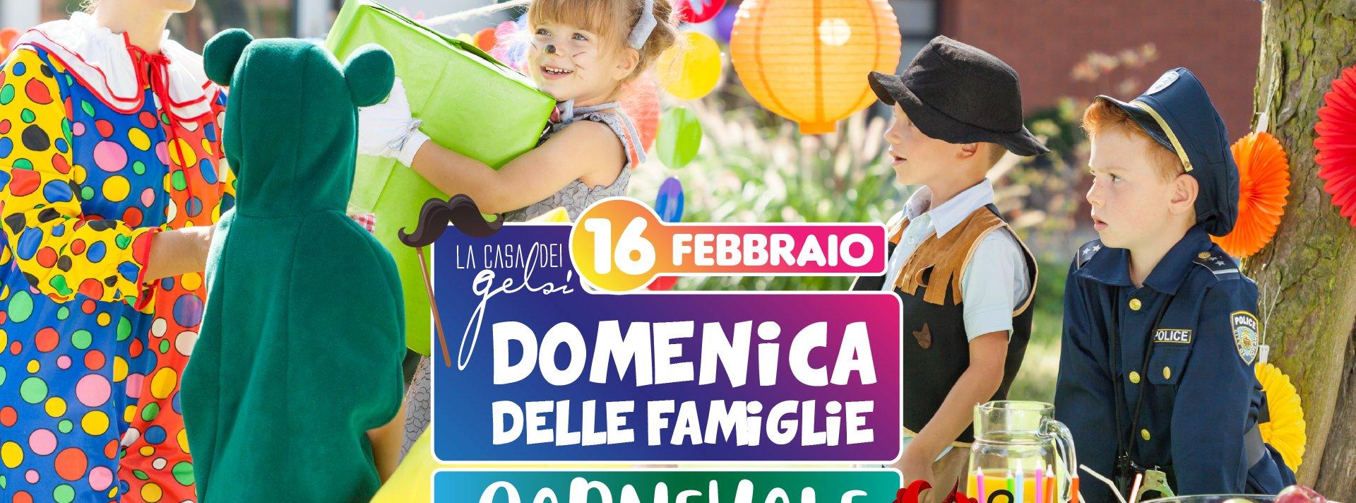 Carnevale per famiglie alla Casa dei Gelsi - 16 fe