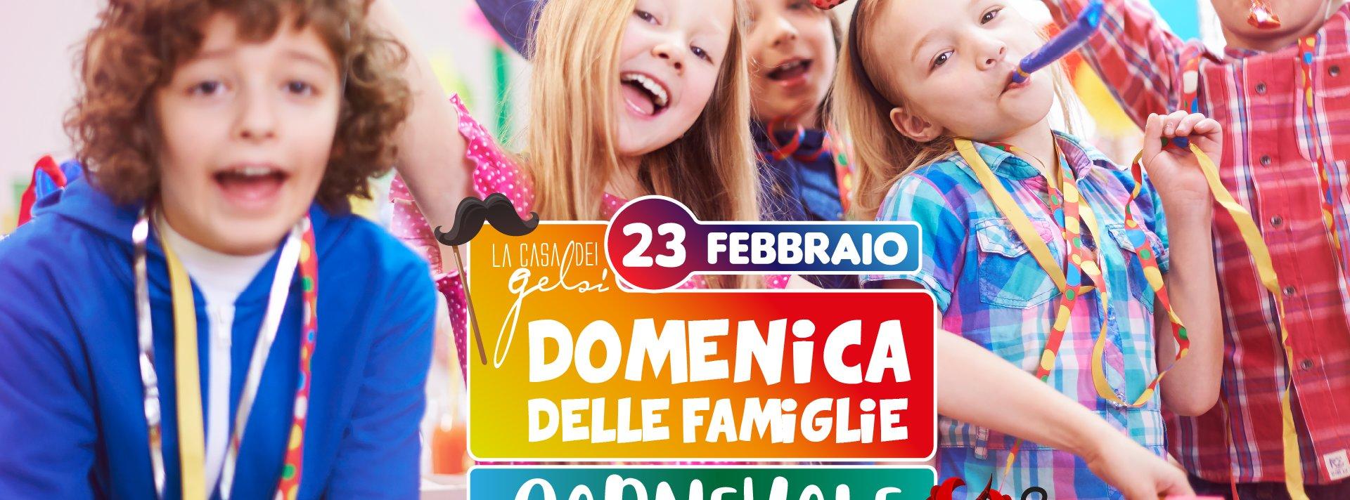 Festa Carnevale 2020 per famiglie Gelsi