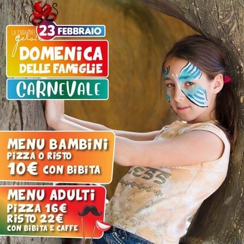 Menu Carnevale Famiglie Gelsi
