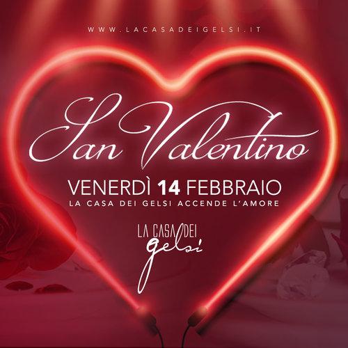 San valentino 2020 - Cena romantica alla Casa dei