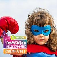 Festa Carnevale Gelsi per famiglie - 1 marzo 2020