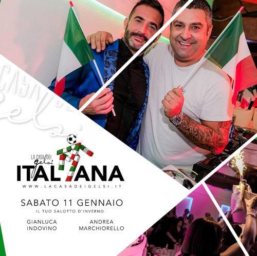 Italiana con Andrea Marchiorello e Gianluca Indovi