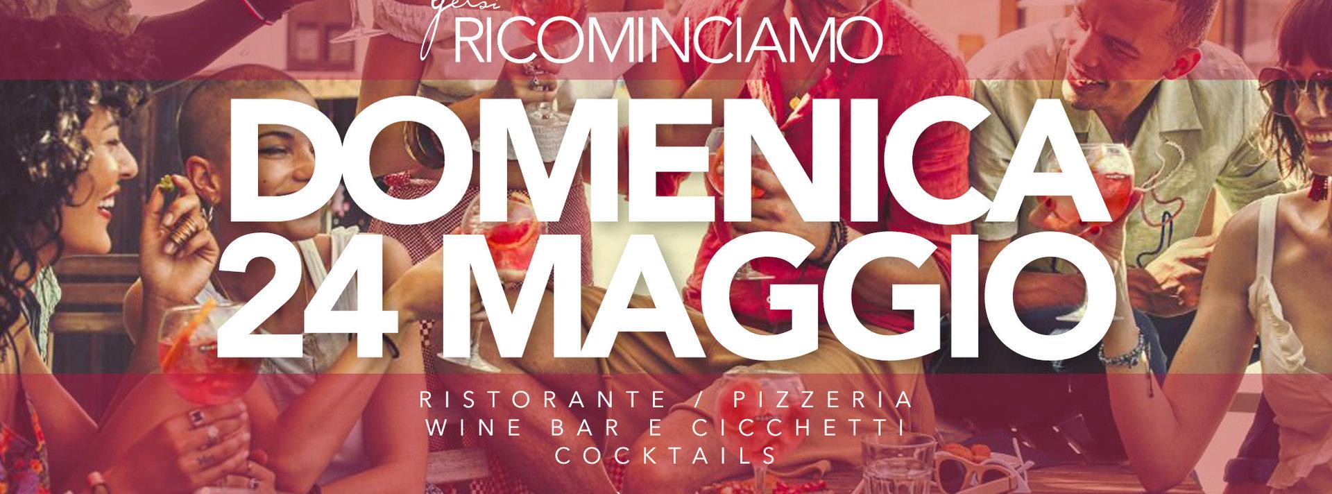aperitivo ristorante e pizzeria Gelsi - 24 maggio