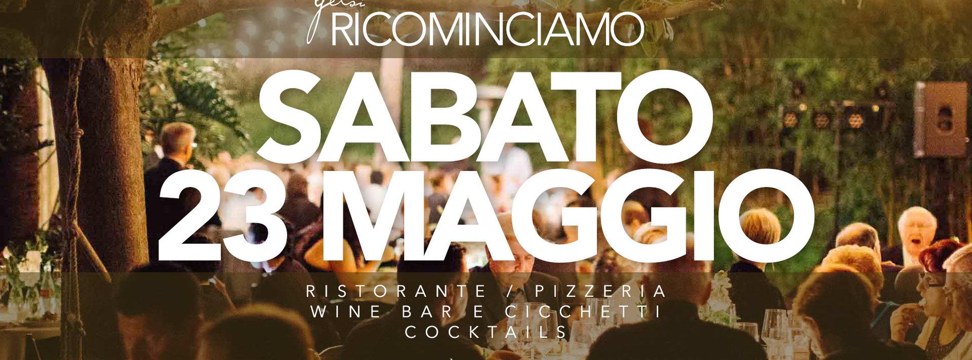 pizzeria e ristorante Gelsi - 23 maggio 2020