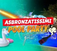 Asbronzatissimi pool party 25 luglio 2020