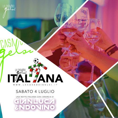 Serata italiana Gelsi 4 luglio 2020