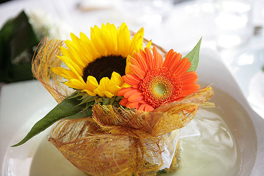 bouquet floreale girasole