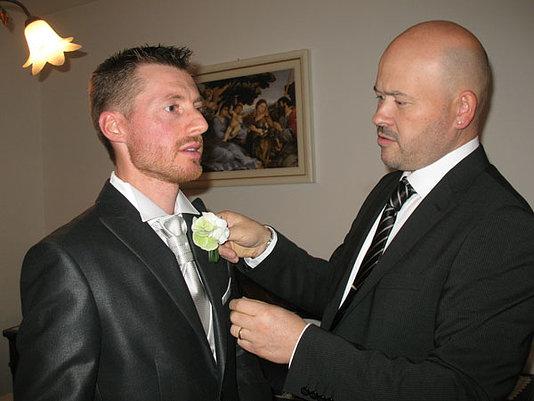 preparazione dello sposo