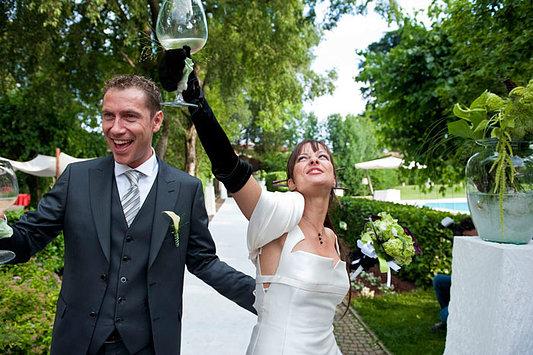 brindisi di gioia sposi