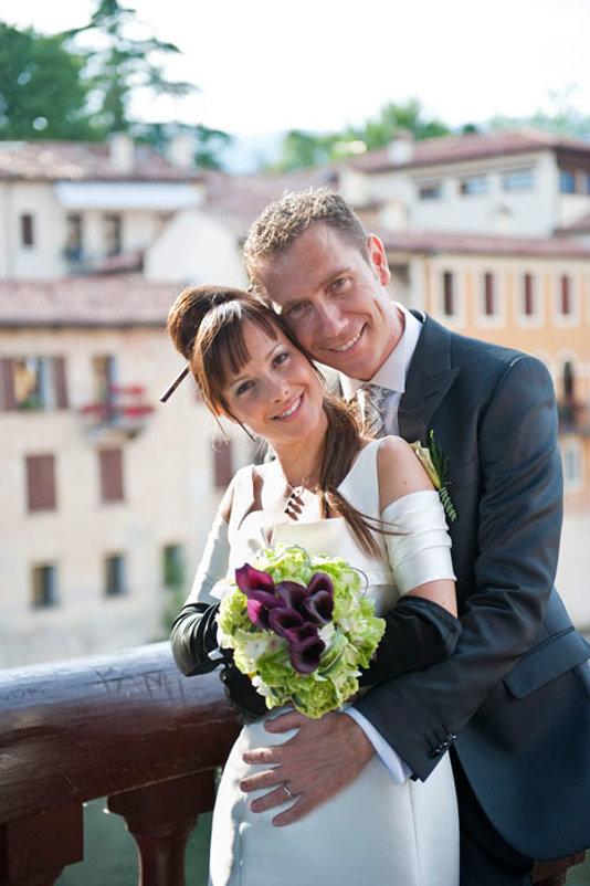 sposi a Bassano del grappa